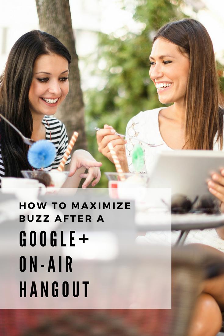 Google Plus Hangout on Air