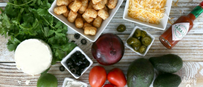 Tatertot ingredients
