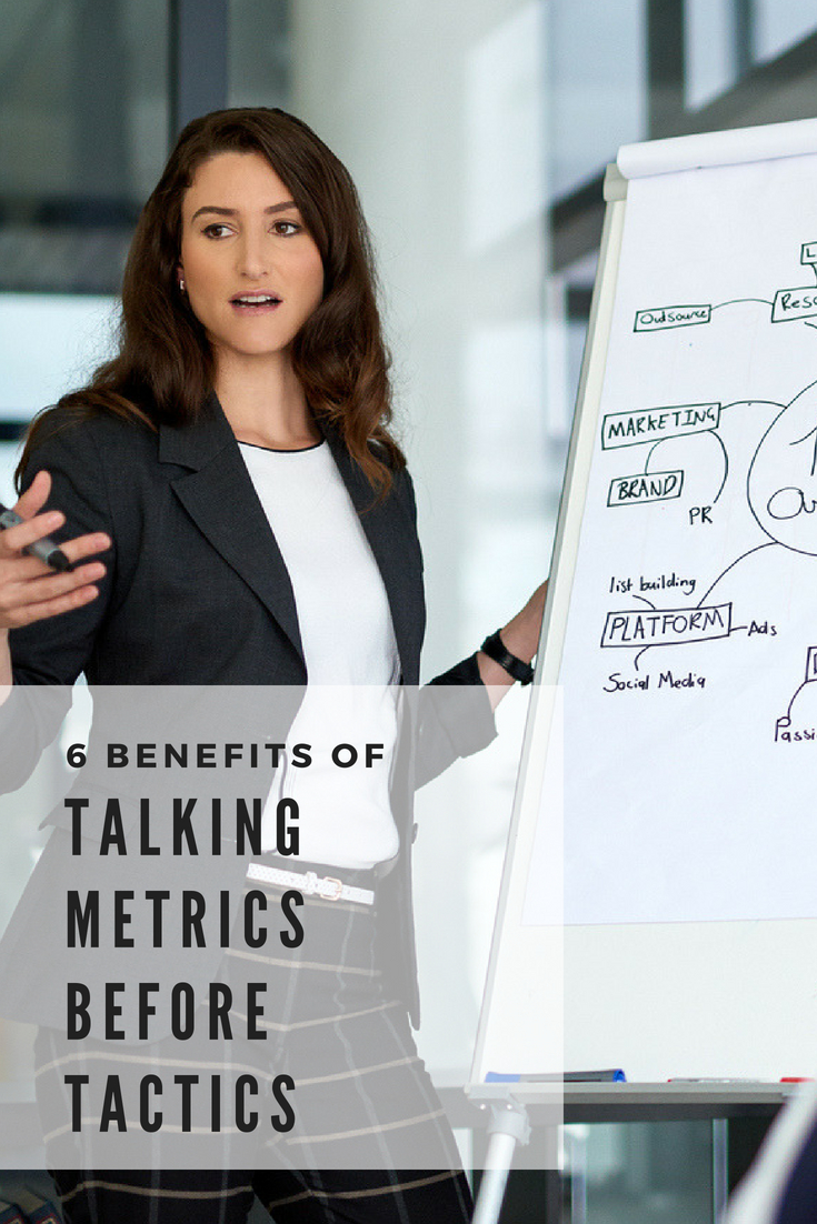 6 Benefits of Talking Metrics Before Tactics