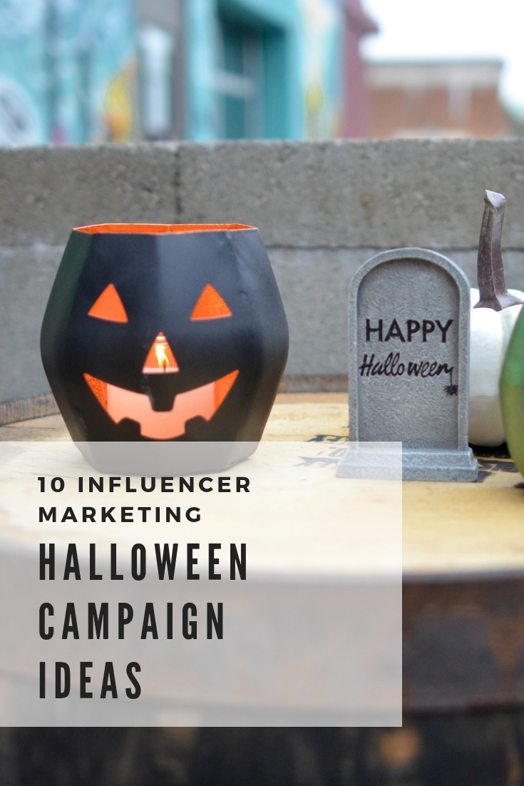 10 Influencer Marketing Halloween Campaign Ideas