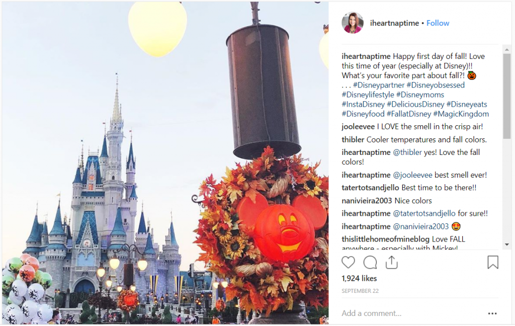 disney live event_influencer marketing campaign ideas