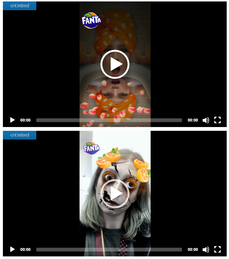 fanta snapchat filters_halloween campaign ideas