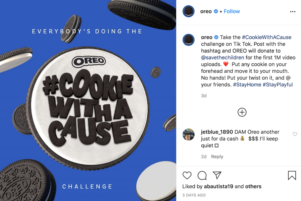 Oreo Virtual Marketing Campaign
