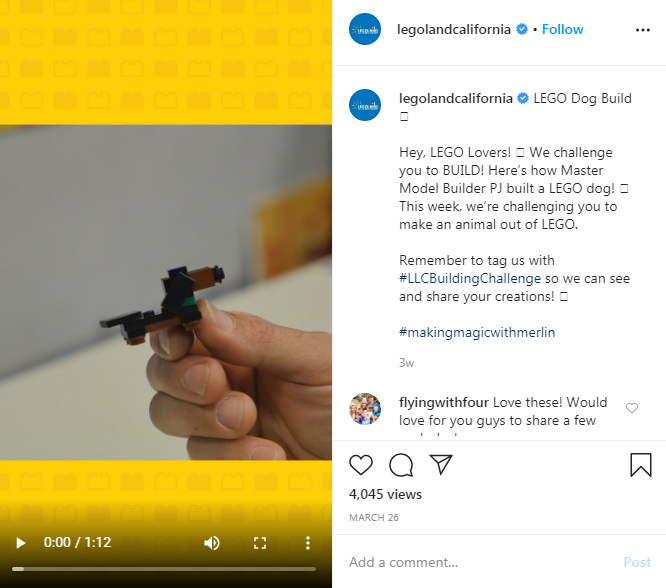 Lego Virtual Marketing Campaign