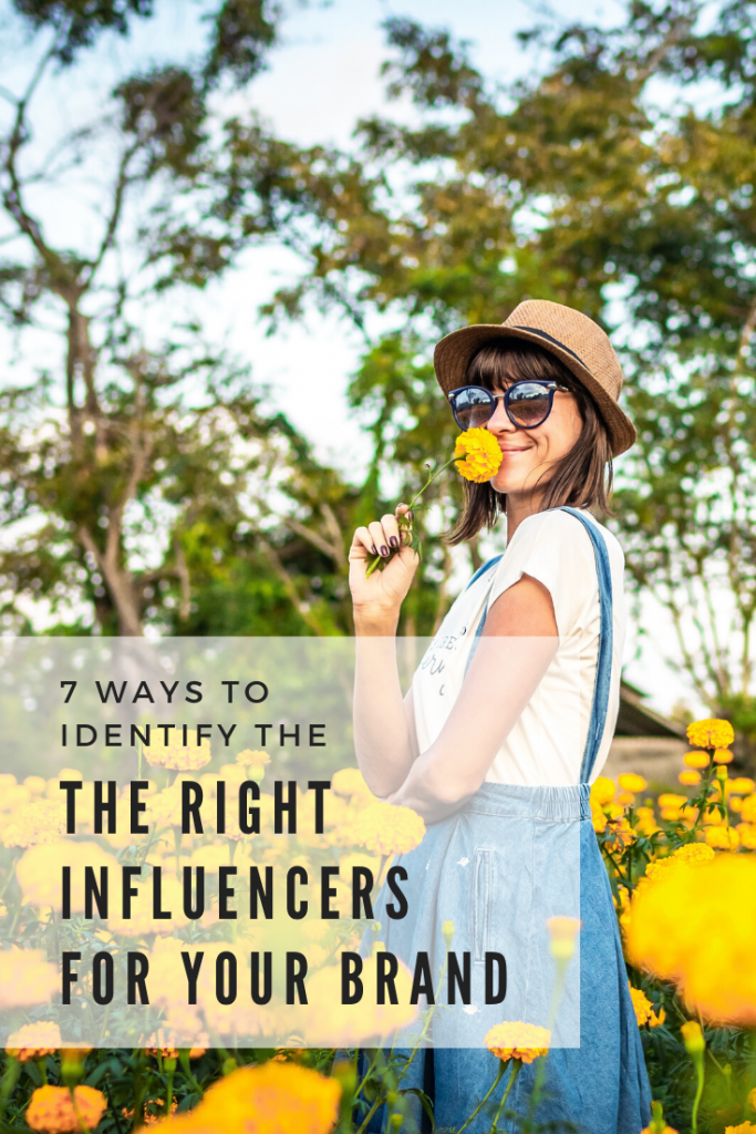 right influencers